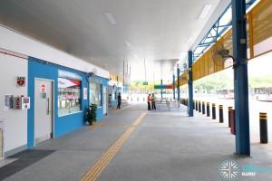 Compassvale Bus Interchange - Concourse near Interchange Office