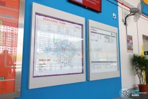 Compassvale Bus Interchange - Information Board