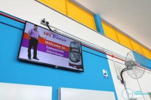 Compassvale Bus Interchange - Television screen