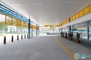 Compassvale Bus Interchange - Concourse near Alighting Berth