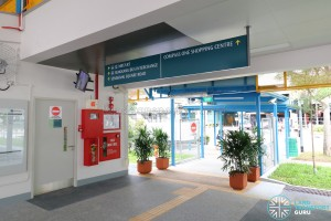 Compassvale Bus Interchange - Exit to Sengkang MRT