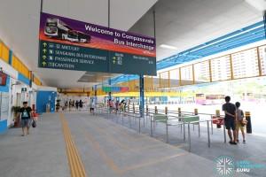 Compassvale Bus Interchange - Concourse near Berth B1
