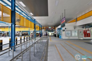 Compassvale Bus Interchange - Concourse near Berth B2