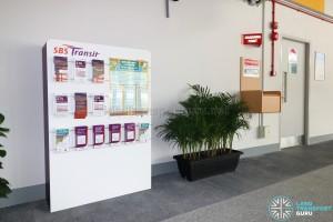 Compassvale Bus Interchange - Service Guide Rack