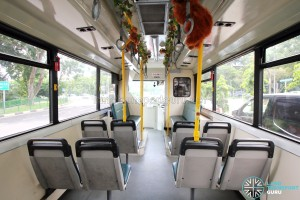 Dennis Lance (Mandai Express) Interior: Mid to Front