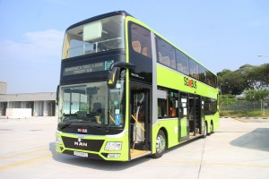 LTA's 3 Door Concept Double Deck Bus - LTA Facebook Page