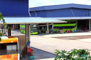 Gemilang Coachworks - MAN A95 Facelift buses undergoing final assembly