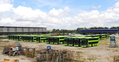 Gemilang Coachworks - Assembled MAN A95 Facelift buses and chassis in storage, awaiting delivery to Singapore
