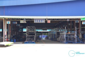 Gemilang Coachworks - MAN A95 bus assembly line