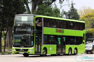 Tower Transit - MAN Lion's City DD L Concept Bus (SG5999Z) - Service 143