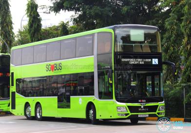 LTA evaluates 3-door MAN Lion's City DD Concept Bus
