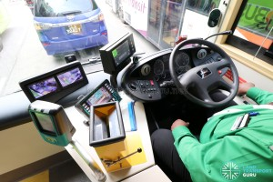 MAN Lion's City DD L Concept Bus (SG5999Z) - Dashboard equipment