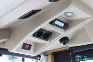 MAN Lion's City DD L Concept Bus (SG5999Z) - Overhead of driver's console