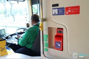 MAN Lion's City DD L Concept Bus (SG5999Z) - Ticket Dispenser and Licensed Capacity stickers
