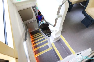 MAN Lion's City DD L Concept Bus (SG5999Z) - Front staircase with two landings