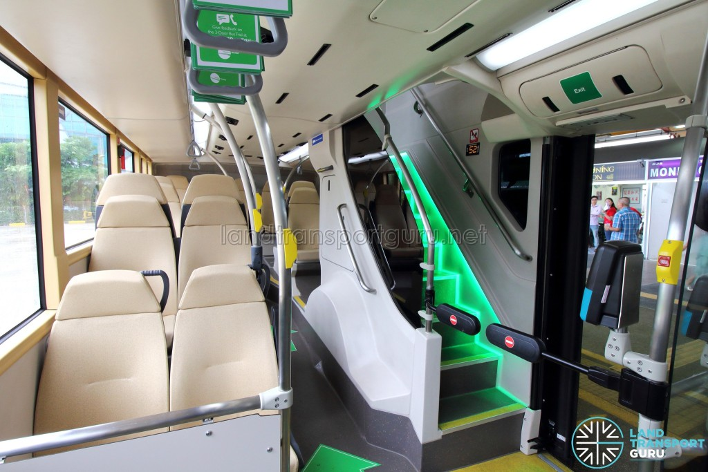 MAN Lion's City DD L Concept Bus (SG5999Z) - Rear seating area