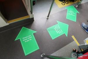 MAN Lion's City DD L Concept Bus (SG5999Z) - Lower deck floor stickers