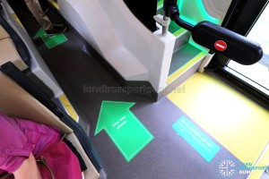 MAN Lion's City DD L Concept Bus (SG5999Z) - Lower deck floor stickers