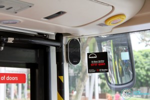 MAN Lion's City DD L Concept Bus (SG5999Z) - Mobileye Shield+ - Left display unit