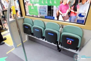 MAN Lion's City DD L Concept Bus (SG5999Z) - Priority seats in the stowed position