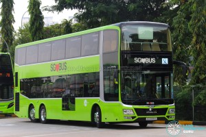 MAN Lion's City DD L Concept Bus (SG5999Z) - Displaying the SG