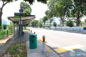 Bus Stop 93199 (Opp Mandarin Gdns) along Siglap Road, to be skipped by Service 55 and 155