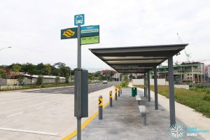 New Bus Stop: 70061 Bef Bidadari Pk Dr along Upper Aljunied Road