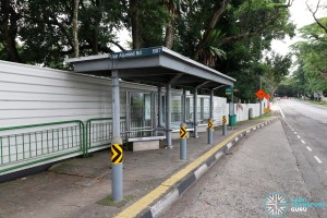 Permanently closed: Bus Stop 61051 (aft Upp Serangoon Rd) along Upper Aljunied Road