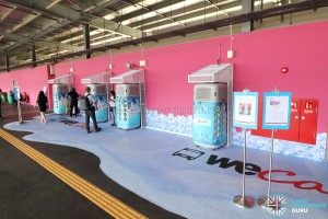 Airbitat Smart Coolers at Yishun Temporary Bus Interchange