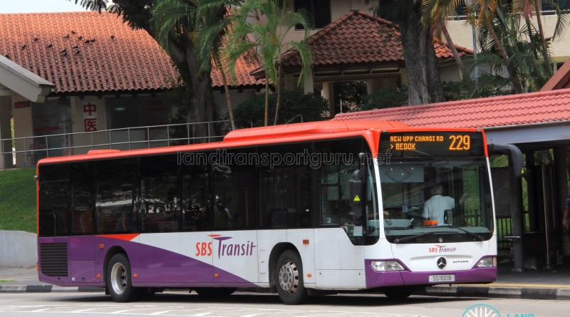 SBS Transit Mercedes-Benz O530 Citaro (SG1100B) - Service 229