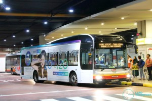 SMRT MAN NL323F A22 (SMB1429B): Tanah Merah – Changi Airport Parallel Bus Service (Direct)