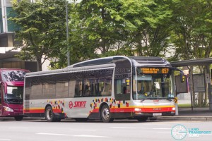 SMRT MAN A22 (SG1710R) - City Direct 657