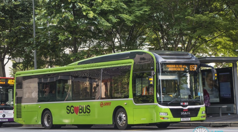 SMRT MAN A22 (SG1712K) - City Direct 657