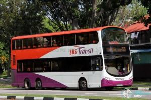 SBS Transit Volvo B9TL Wright (SBS3640J) - Service 55