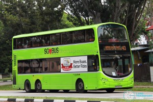 Go-Ahead Volvo B9TL Wright (SBS3433R) - Service 43