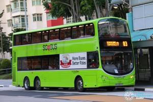Go-Ahead Volvo B9TL Wright (SBS3500E) - Service 83