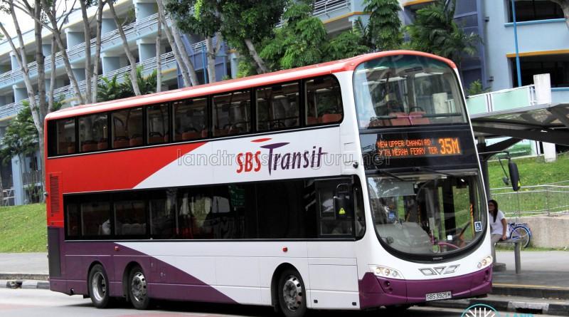 Volvo B9TL Wright (SBS3925M) - Service 35M
