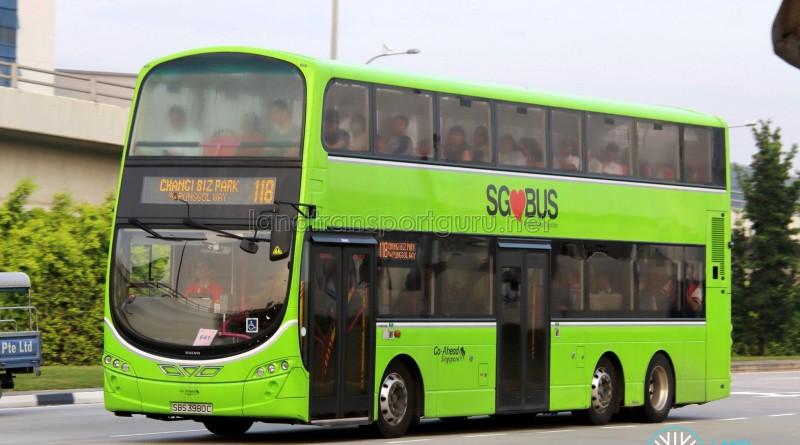 Go-Ahead Volvo B9TL Wright (SBS3980C) - Service 118