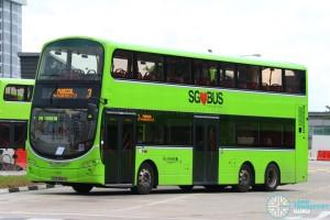 Go-Ahead Volvo B9TL Wright (SBS3954S) - Service 3