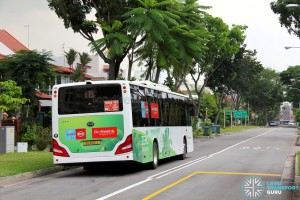 Go-Ahead Singapore BYD K9 (SG4001J) at Telok Kurau Road