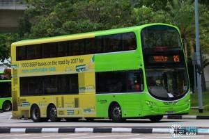 Service 85 - Go-Ahead Volvo B9TL Wright (SBS4R)