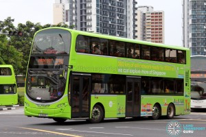 Tower Transit Volvo B9TL Wright (SG5003Y) - Service 334