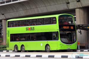 Tower Transit Volvo B9TL Wright (SG5011Z) - Service 98