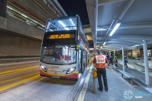 Parallel Bus Service at Joo Koon