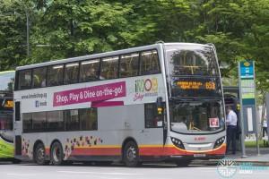 SMRT Alexander Dennis Enviro500 (SMB5077G) - Express Service 653