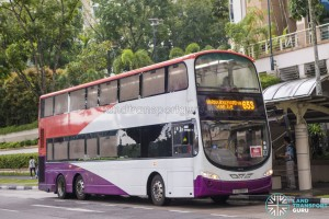 SMRT Volvo B9TL Wright (SG5088C) - City Direct 653