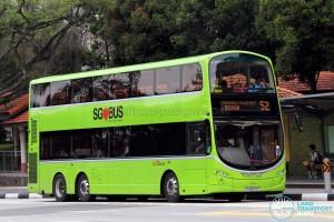 SBS Transit Volvo B9TL Wright (SG5607E) - Service 52