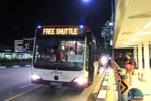 SBST Mercedes-Benz O530 Citaro (SBS6089G) - DTL Bridging Bus