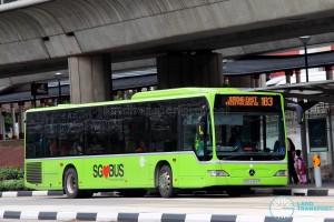 Tower Transit Mercedes-Benz Citaro (SBS6363P) - Service 183