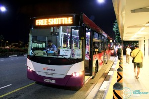 SBST Scania K230UB Euro IV (SBS8551A) - DTL Bridging Bus